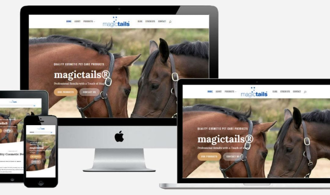 New Website for Magictails®