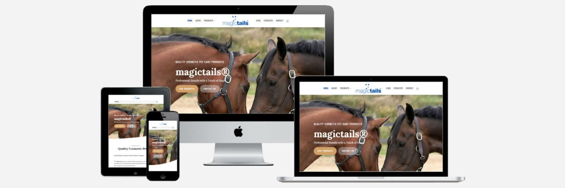 Magictails New Website