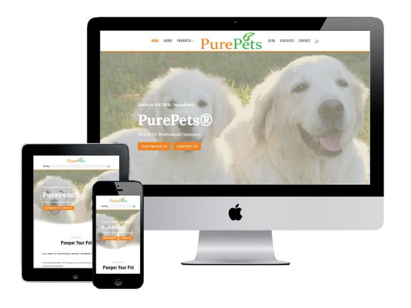 PurePets New Website